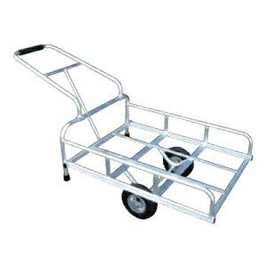 アルミス アルミリヤカー4型 (2輪車) 【80キロ積載】 【 ホイール式運搬車】【ノーパンクタイヤ】【 農作業用運搬車】 【 リヤカー】 【 アルミ運搬車】 【代引不可】