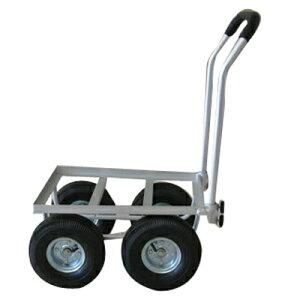 アルミハウスカー (デカタイヤ) TC4525 ハウスカー 台車 園芸台車 ガーデニング用品