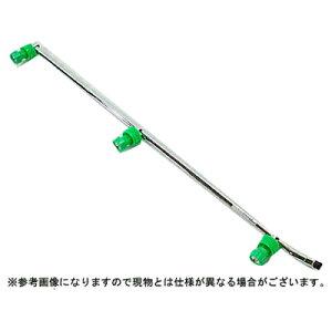 【ノズル・噴口】ヤマホ ラウンドノズル100動力用3頭口(G1/4)【噴霧器・噴霧機・動噴・防除用】