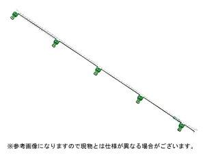 【ノズル・噴口】ヤマホ ラウンドノズル100動力用5頭口(G1/4)【噴霧器・噴霧機・動噴・防除用】