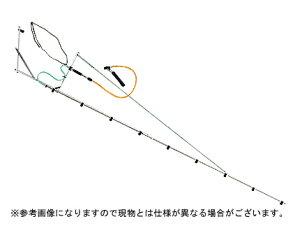 【ノズル・噴口】ヤマホ 片持ブームG型9頭口新広角スズランタイプ(G1/4)【噴霧器・噴霧機・動噴・防除用】