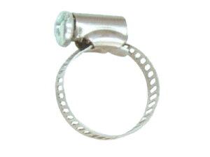 【永田】M-6ダイヤクランプ(ステンレス製)20mm【ホース接続金具・ホースバンド・防除器具】