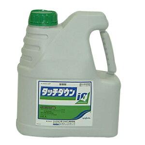 【除草剤】 タッチダウン IQ 5L 3本入 (スギナ チガヤ ツユクサ クズ ササ 竹) グリホサートカリウム塩液剤