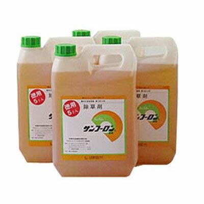 【除草剤】 サンフーロン 5L 【4本入】 + サンフーロン 500ml 1本おまけ付き! 【農薬】 旧ラウンドアップのジェネリック品