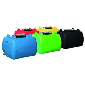 スイコー ホームローリータンク 50L 【25A排水バルブ付き】 【カラー:レモン色:緑色:赤色:黒色:青色】 【メーカー直送・代引不可】
