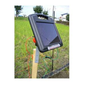 ニシデン産業 家庭菜園用 電気柵 アニマルバスター NSD-200BS ソーラー 100m×2段張りセット (出力テスター付)