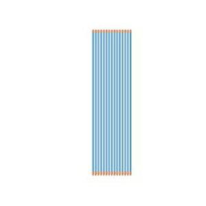 アポロ 電気柵 資材 エリアポール 50本入 【φ20×2100mm】 AP-PL2100B 【イノシシ サル シカ クマ】 【代引不可】 樹脂被膜鋼管支柱