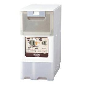 みのる産業 米びつ精米機 HRP-110 つきたて 家庭用 日本製 【米びつ容量玄米約11kg】 【電源100V・50/60Hz】 白米みがき機能