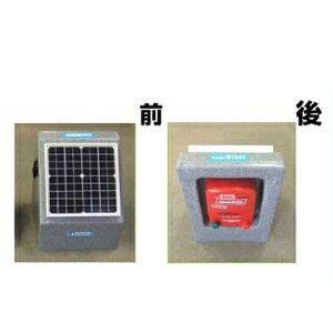 【受注生産】 未来のアグリ(北原電牧) 電気柵 本体 ソーラービビット 1000型 センサー付(バッテリー無) KD-SB1000-SENSOR-N-BAT