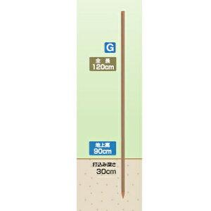 タイガー 電気柵 資材 TBS-PK20120 樹脂被覆鋼管支柱 K2012 50本入 (20mm径×長さ120cm) アニマルキラー イノポールロング TAK-P120