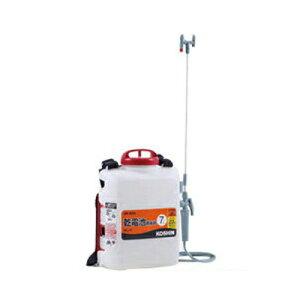 工進 背負式乾電池噴霧器 消毒名人 DK-7D 【7Lタンク】【噴霧器】【動噴】