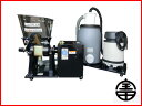 【受注生産】 宝田工業 健康志向 精麦機 3RSB-10FS 貯蔵タンク用サイクロン付き