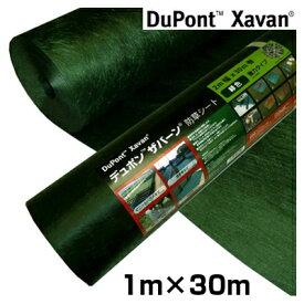 防草シート ザバーン 240 1m 超強力タイプ ザバーン 240G グリーン 1m X 30m 1本入 除草シート デュポン