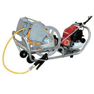 工進 4サイクルエンジンセット動噴 MS-ERH50【サンフーロン1本サービス】【軽量6mmホース50m付き】(噴霧器 噴霧機)