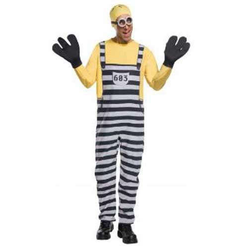 ハロウィン コスチューム ミニオンズの囚人服のトム 大人用 コスチューム mini0822