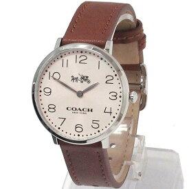 540196ee277b コーチ 時計 レディース COACH アウトレット スリム イーストン レディース ウォッチ シルバー/ブラウン 腕時計 14502682 n81203