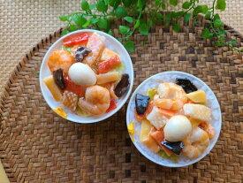 アトリエステラ 食品サンプル 【中華丼の小物入れ】食品サンプルキット K1003