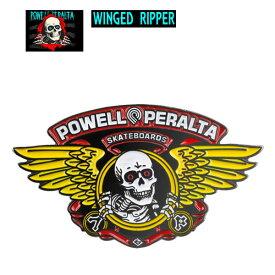 【エントリーポイント10倍!チャンス!】/POWELL PERALTA(パウエル) WINGED RIPPER ピンバッジ