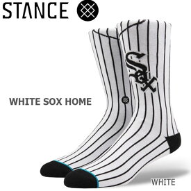 野球メジャーリーグ コラボ メンズ ソックス スタンス STANCE WHITE SOX HOME 靴下 ベースボール スポーツ オシャレ stc-fair メール便配送 【50SP】