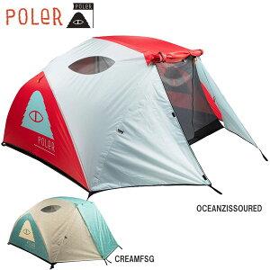 キャンプ フェス テント 21SS POLER ポーラー 2 MAN TENTS ツーメンテント