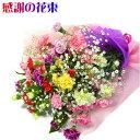 母の日 花 ギフト 感謝の花束「送料無料」生花 花束 カーネーション