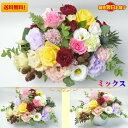 花 ギフト 生花 アレンジメント「ワイド」選べる5色クール便利用料 無料
