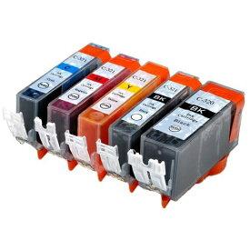 BCI-321+320/5MP ×1 / 5色セット CANON (キャノン) 互換インク 320のみ顔料他は染料 【対応インク型番】 BCI-320PGBK BCI-321BK BCI-321C BCI-321M BCI-321Y