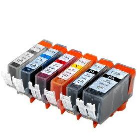 BCI-321+320/6MP ×1 / 6色セット CANON (キャノン) 互換インク 320のみ顔料他は染料 【対応インク型番】 BCI-320PGBK BCI-321BK BCI-321C BCI-321M BCI-321Y BCI-321GY