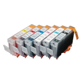 BCI-6/6MP ×1 / 6色セット CANON (キャノン) 互換インク 全色染料 【対応インク型番】 BCI-6eBK BCI-6eC BCI-6eM BCI-6eY BCI-6ePC BCI-6ePM