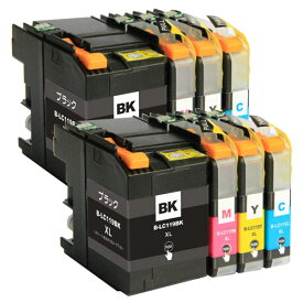 LC119/115-4PK ×2 / 4色セット brother (ブラザー) 互換インク 全色染料 【対応インク型番】 LC119BK LC115C LC115M LC115Y
