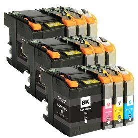 LC119/115-4PK ×3 / 4色セット brother (ブラザー) 互換インク 全色染料 【対応インク型番】 LC119BK LC115C LC115M LC115Y