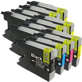 LC12-4PK ×3 / 4色セット brother (ブラザー) 互換インク BKのみ顔料他は染料 【対応インク型番】 LC12BK LC12C LC12M LC12Y