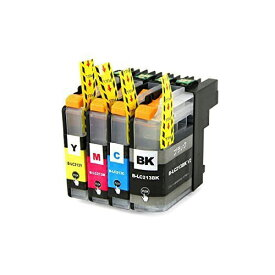 LC213-4PK ×1 / 4色セット brother (ブラザー) 互換インク BKのみ顔料他は染料 【対応インク型番】 LC213BK LC213C LC213M LC213Y
