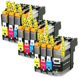 LC213-4PK ×3 / 4色セット brother (ブラザー) 互換インク BKのみ顔料他は染料 【対応インク型番】 LC213BK LC213C LC213M LC213Y