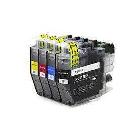 LC3117-4PK ×1 / 4色セット brother (ブラザー) 互換インク 全色染料 【対応インク型番】 LC3117BK LC3117C LC3117M LC3117Y