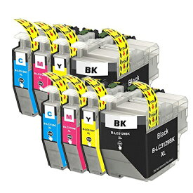 LC3129-4PK ×2 / 4色セット brother (ブラザー) 互換インク 全色染料 【対応インク型番】 LC3129BK LC3129C LC3129M LC3129Y
