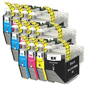 LC3129-4PK ×3 / 4色セット brother (ブラザー) 互換インク 全色染料 【対応インク型番】 LC3129BK LC3129C LC3129M LC3129Y