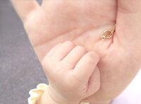 【新作】K18ゴールド誕生石ペンダントトップ「ベビーリング-Babyring-」色石一粒18K18金YGWGPGイエローゴールドホワイトゴールドピンクゴールドギフトプレゼント【送料無料】出産祝い内祝