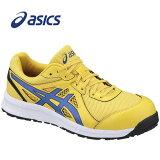 アシックスFCP106-0445安全靴ウィンジョブCP106タイチイエロー×インペリアブルー