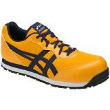【アシックス】安全靴ウィンジョブCP201ゴールドフュージョン×アストラルオーラFCP201-0433