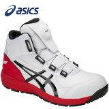 アシックス1271A030-100安全靴ウィンジョブCP304Boaホワイト×ブラック