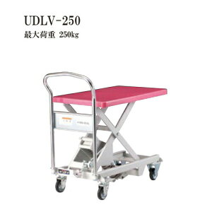 花岡車両 UDLV-250 ダンディレベラー スチール製レベラー台車 最大荷重250kg 腰痛対策機器