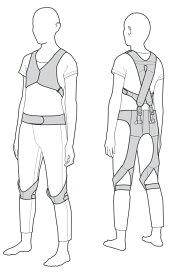 在庫処分特価! モリタ宮田工業 腰痛サポートウェア ラクニエ 2012年モデル 男性用Mサイズ
