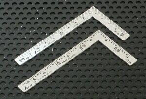 【シンワ】小型曲尺10cm×5cm『三寸法師』センチ・尺目選択