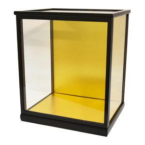 人形ケース ガラス人形ケース ガラスケース 雛人形ケース 五月人形ケース 光淋35黒桑 幅 間口30奥行24高35cm(ガラス寸法)内計り