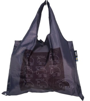 MOZ沢山入る大人おしゃれなエコバッグ『バッグ』折り畳み母の日北欧スェーデンブランドエルク可愛いおしゃれシンプルプレゼント