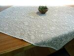 【送料無料】人気のカフェカーテンが『トップテーブルクロス』になりましたナチュラルシンプル自薦素材リネン麻混綿刺繍ソファ掛けにもマルチに