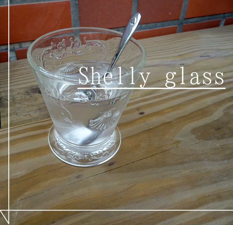 あす楽★飾りに 夏の飲み物に 『シェル タンブラー』フランス製ガラスコップ ハワイアン 【HLS_DU】おしゃれ ミニ花瓶 グラス