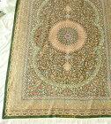 【送料無料】ペルシャ絨毯サイズ:296×202産地:クム作者:アーマディ材質:シルク