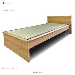 畳ベッドコンセント付きスマホやタブレットが置けるヘッドボード日本製(シングルサイズ)
